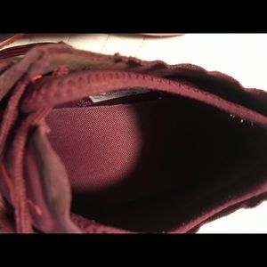 Nike Shoes - Nike Red and Black Air Jordan Trainer 1